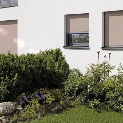 Stoffmarkise für Fenster
