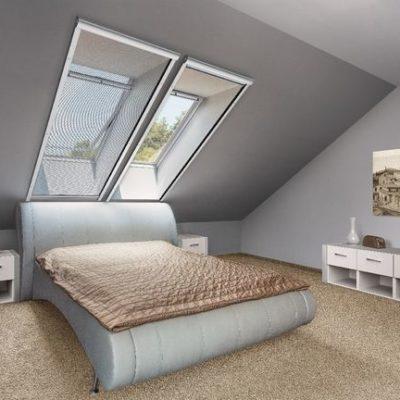 Insektenschutz Rollo Schlafzimmer